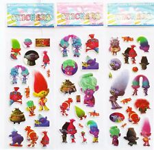 Trolls Stickers.Lolly bag filler, Prizes *SPECIAL OFFER* BUY 5 GET 5 FREE