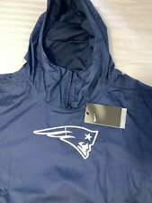 $100 MSRP Nike New England Patriots Repel Lightweight Player Jacket Pullover NEW