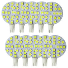 10x T10 W5W 921 194 LED Light Car Bulb DC 12V 24-5050 SMD 3W 350LM White lamp #Y