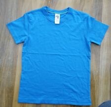 Mini Boden Boys Fabulous blue cotton Top. Size 7-8 years. Brand new.