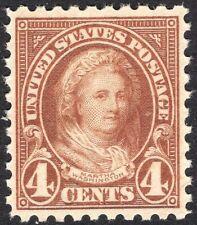 #585 XF MNH-OG- 4c Martha Washington Perf 10 GEM QUALITY STAMP (REM #585-7)