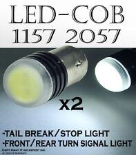 x2  1157 1016 BAY15D COB LED White Replace Parking OEM halogen Bulbs 109K
