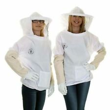 Beekeepers Basic White Round Tunic Gloves Sets - Choose Your Size