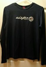 105th Us Open 2005 Championship Pinehurst No.2 Navy Long Sleeve T-Shirt Small