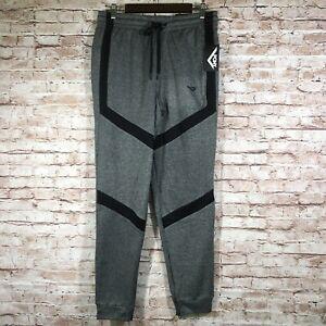 New Pony Athletic Pants Gray Skinny Leg Comfort Fit Men's Size Medium H28