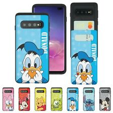 DISNEY Heart Card Bumper Cover for Galaxy S21 S20 S10 S9 Plus Note20 Ultra Case