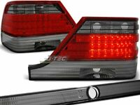 Tail Lights for Mercedes W140 S-CLASS 95-98 Red Smoke LED WorldWide FreeShip US