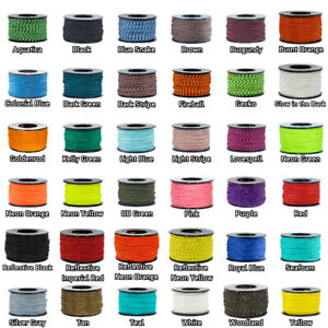 Paracord Planet Micro Cord - 28 Colors - 1, 2, and 5-Packs - 125-Foot Spools