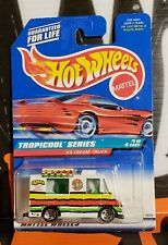 "1998 HOT WHEELS TROPICOOL SERIES ** ICE CREAM TRUCK ** #693 "" BLACK LOGO """
