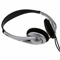 Digital Stereo Cushioned Headphones with Adjustable Head Band 3m