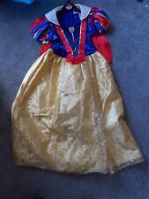 SNOW WHITE  FANCY DRESS OUTFIT FROM DISNEY'S CLASSIC FILM AGE 7-8 YEARS