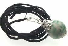 Gemstone Jade Round Costume Necklaces & Pendants