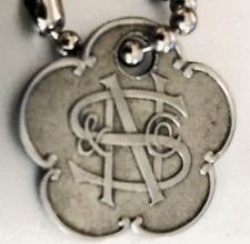 Vintage Charge Coin Tag: Nathan Snellenburg & CO; NS&C; Philadelphia Dept Store
