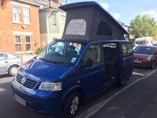 VW t5 camper van with pop top roof and Vanworx conversion