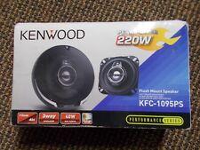 KENWOOD 220W FLUSH MOUNT SPEAKERS KFC-1095PS 3 WAY SPEAKER - 1 PAIR