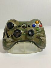 Official Halo 4 Special Edition Camouflage Xbox 360 Wireless Controller TESTED