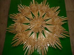 2-er Set ,Strohsterne,22 cm,Strohstern,Stern,Weihnachtsstern,Weihnachtsdeko,Deko