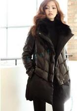 Women Winter Warm Jacket Loose coat  Faux Fur Collar Cotton Coat 2018