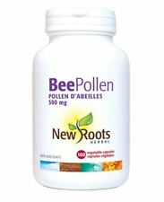 New Roots Herbal Bee Pollen 500mg 100 Vegatable Capsules