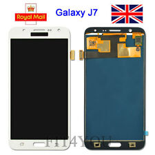 For Samsung Galaxy J7 J700F White LCD Display Touch Screen Digitizer Replacement