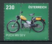 Austria Motorcycles Stamps 2020 MNH Puch MV 50 V Transport 1v Set