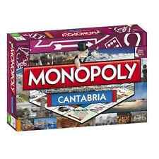 Monopoly Edición Cantabria - Juego de Mesa - Versión en Español/Inglés