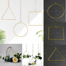 3D Geometric Wall Mounted  Flower Holder Metal Geometric Home Decor Nordic Style