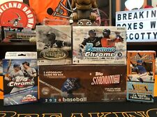 Oakland Athletics 2020 Case Break 5 Box Mixer-Bowman Chrome-Gold Label...