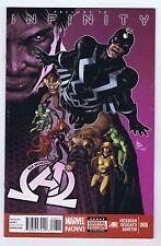 New Avengers #8 VF/NM 1st App Thanos Black Order 2013 Marvel Avengers Movie PWC