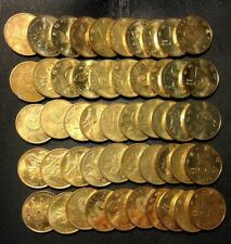 Old China Coin Lot - 5 JIAO - 50 EXCELLENT COINS - Mostly AU/UNC - Lot #617
