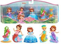 Disney Sofia The First Royal Friends Mermaid Figure Set Ages 3+ Doll toy Play