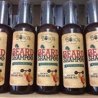 BOBOS BEARD COMPANY BEARD WASH SHAMPOO SOFTENS STRENGTHENS REPAIRS