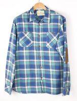 Scotch & Soda Hommes Standard Décontracté Flanelle Chemise Taille XL BAZ981