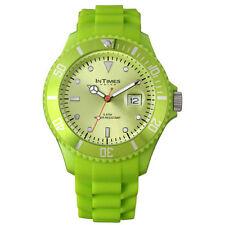 Unisex Round Wristwatches