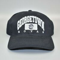 Georgetown Hoyas Twins Enterprise Vintage 90s NCAA Adjustable Strapback Cap Hat
