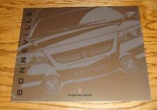 Original 2001 Pontiac Bonneville Deluxe Sales Brochure 01 SE SLE SSEi