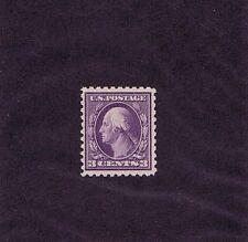 Sc# 464 Unused Og Mint Never Hinged 3 Cent Washington, 1916, Extra Fine