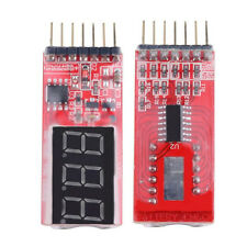 2S-6S 2-6S RC Lipo Battery Low Voltage Alarm Indicator Meter Checker Tester NEW