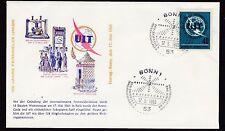 Briefmarken aus der BRD (ab 1948) mit Ersttagsbrief für Post, Kommunikation