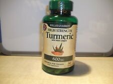Holland & Barrett Organic High Strength Turmeric  Black Pepper 90 Capsules 600mg