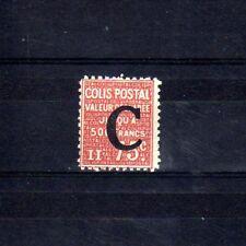 Colis Postaux n° 112 neuf avec charnière