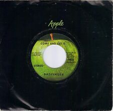 BADFINGER  Come And Get It  original 45 on APPLE label