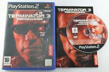 PLAY STATION 2 PS2 TERMINATOR 3 RISE OF THE MACHINES COMPLETO PAL ESPAÑA