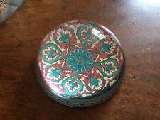 London Glass Domed Paperweight