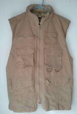 Vest Photographer Fishing Safari Vest Nikota Multi 9 Pocket Hood Large