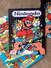 Vintage 1988 Nintendo NES Super Mario Folder - Unused