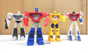 2021 Transformers McDonalds Happy Meal Toys Complete of 4PCS Christmas Gifts