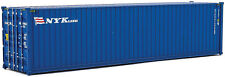 Walthers HO Scale 40' Hi-Cube Shipping Intermodal Container NYK Lines (Blue)