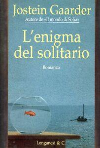 L'enigma del solitario. Jostein Gaarder Longanesi 1996