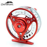 CAMEKOON 5/6WT Large Arbor CNC Machined Aluminum Waterproof Fly Fishing Reel